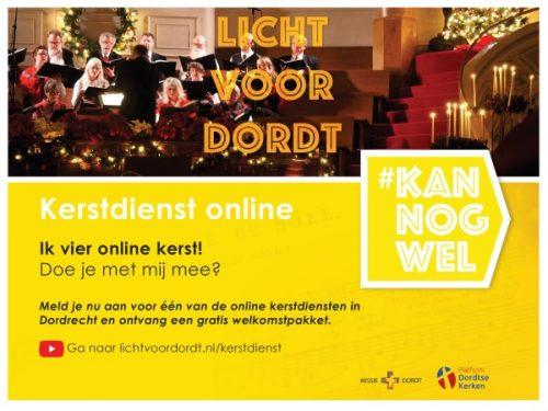 Kerstdienst Online - Uitnodiging
